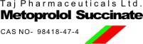 Metroprolol succinate, CAS NO 98418-47-4