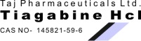 Tiagabine Hcl CAS Registry Number 145821-59-6