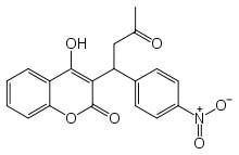 Acenocoumarol Formula C19H15NO6