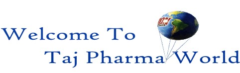 Taj Pharmaceuticals World Logo