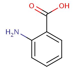 Anthranilic acid  formula C7H7NO2