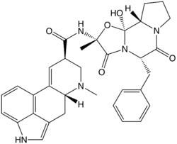 Ergotamine  Formula C33H35N5O5