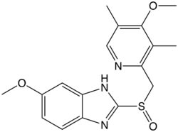 Omeprazol Formula C17H19N3O3S