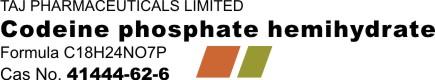Codeine phosphate hemihydrate logo